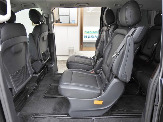 V220d AVGロング 黒革  RSP 1オナ 新車保証(17枚目)