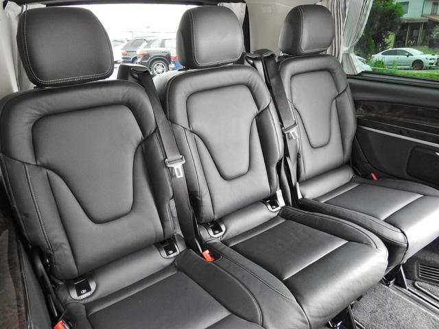 V220d AVGロング 黒革  RSP 1オナ 新車保証(18枚目)