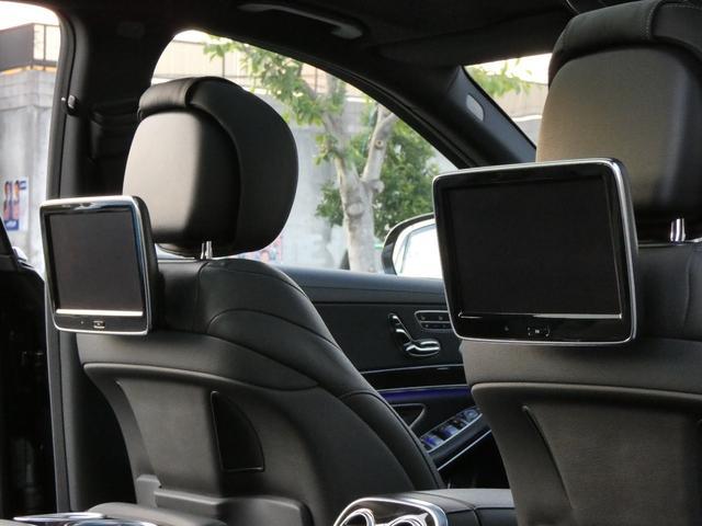 S550ロング AMGスポーツPKG ショーファーPKG リアセーフティPKG 左H RSP 黒革 PSR ナビTVBカメラ リアエンタ ディストロ Burmester パワーシート&ステアリング/シートヒーター ベンチレーター キーレスゴー 19AW(38枚目)