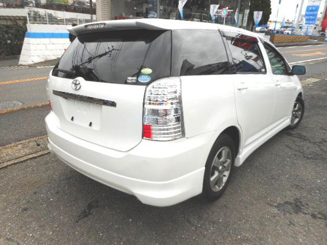 トヨタ ウィッシュ X Sパッケージ 純正ナビバックカメラ 禁煙車 本革調シート