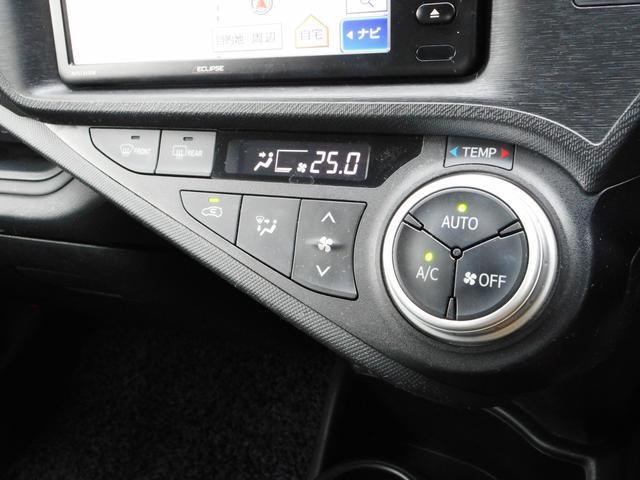 L イクリプス製ワイドサイズSDナビ ワンセグ ETC コーナーセンサー フルオートエアコン キーレスキー ポリマーコーティング 禁煙車(12枚目)