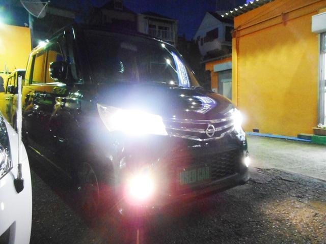 暗い夜道もこれで安心!格好良さと実用性を兼ね備えた純正HIDヘッドライト装備!もちろん、純正品ですから車検や整備も問題なくクリア!格好良く実用性にも優れた純正フォグランプも装備しています!