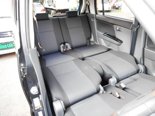こんなシートレイアウトが出来るのもワゴンRの魅力のひとつです!フロントシートを倒すとフルフラットレイアウトに出来ますので、まるで自室のようなくつろぎ空間!仮眠もとれて便利にお使い頂けます!
