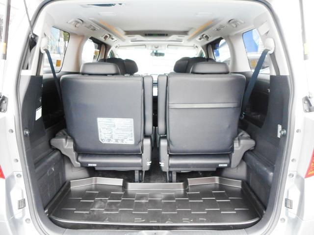 サードシート使用時でもこれだけのラゲッジスペースを確保出来ます!三世代ファミリーでの旅行も楽にこなせる余裕の室内空間が魅力のラージサイズワゴン車です!