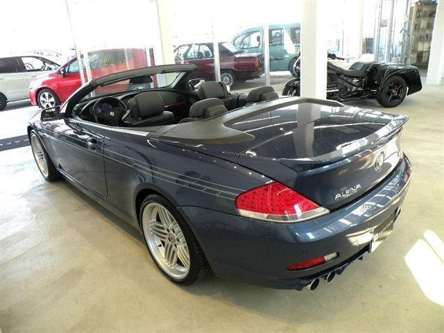BMWアルピナ アルピナ B6 カブリオ スーパーチャージ 保証付 HDDナビ D車