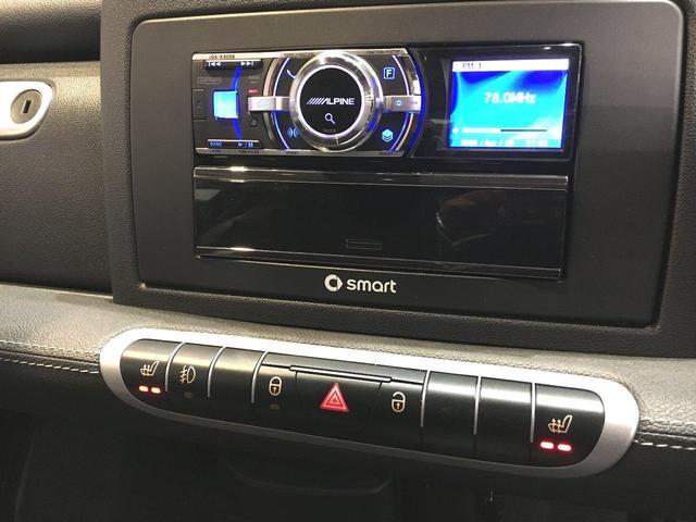 スマート スマートフォーツークーペ BRABUSエクスクルーシブ 1オナ 保証付 革 グラスR