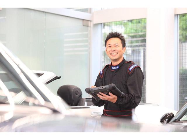 サービスアドバイザーの押田慎太郎です。何かを作ったり、壊れたものを分解したりな、直したりする事が楽しいと思う子供でしたので、お客様の愛車を直したり点検整備をするのは最高に楽しい時間なのです。