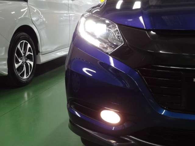 LEDヘッドライト付きで夜道も明るい視界が保てますので安心です。