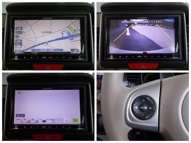 G・Lパッケージ ナビ Rカメラ L電動スライド 1オーナー スマキ- AUX CDデッキ 点検記録簿 両側スライド片側電動ドア イモビライザー ETC車載器 メモリナビ ABS ESC DVD アルミホイル ベンチ席(14枚目)