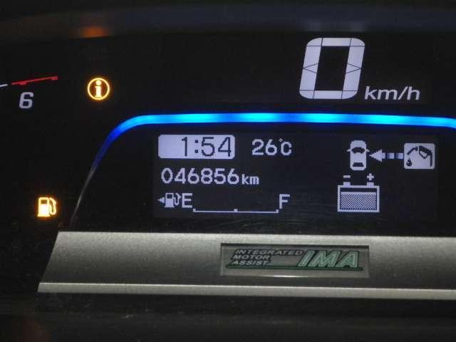 ハイブリッド ナビ リヤカメラ 左側電動 AC 1オーナー キーレス DVD ナビTV ETC メモリーナビ バックモニター ワンセグTV アイドリングストップ 横滑り防止 3列シート(16枚目)