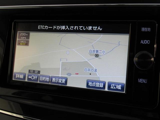 トヨタ プリウスアルファ G  フルセグメモリーナビ ナビデーター最新版
