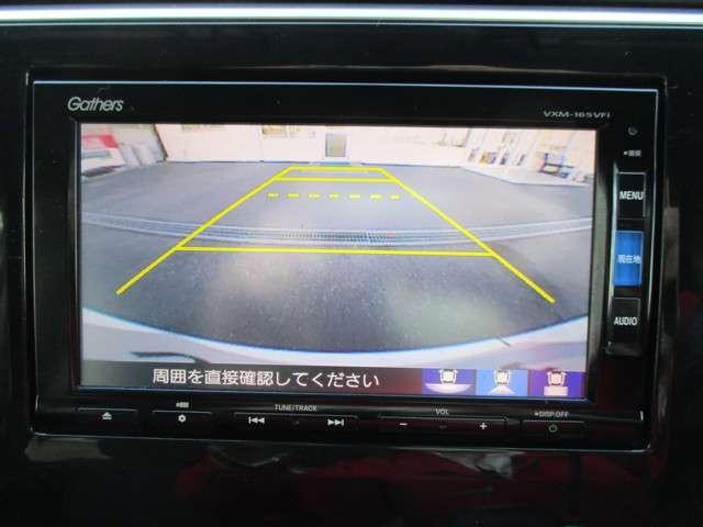 バックカメラも付いています! 運転が不慣れな方でも安心して駐車が可能です!