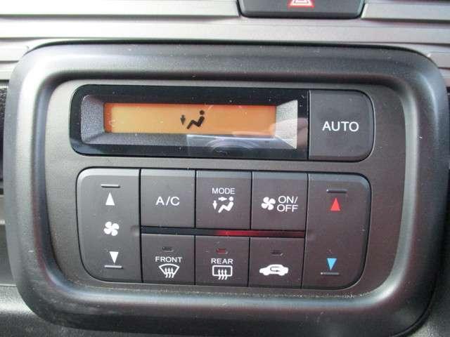 オートエアコン機能付き!快適な空調管理が可能です!