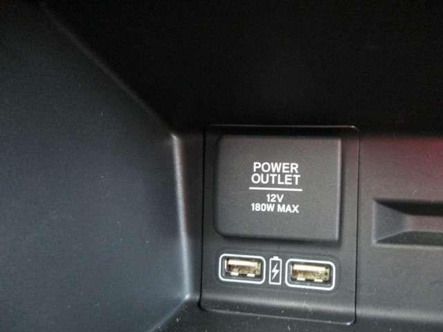 アクセサリーソケット、USB、充電に使用してください。