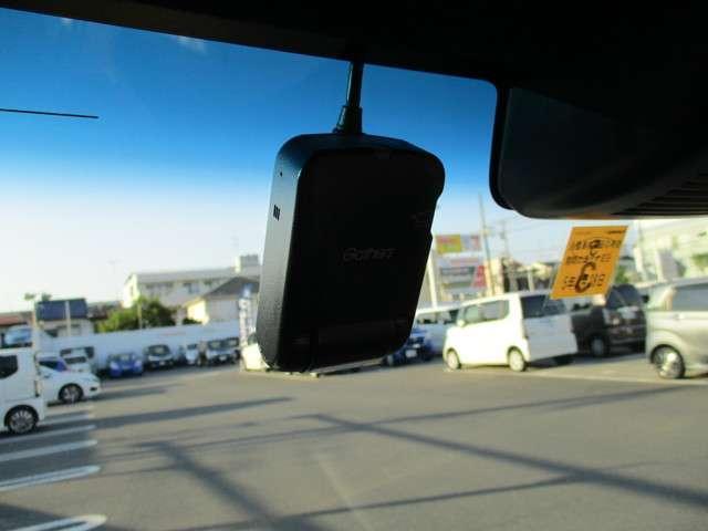 ホンダ純正のドライブレコーダーが付いています。