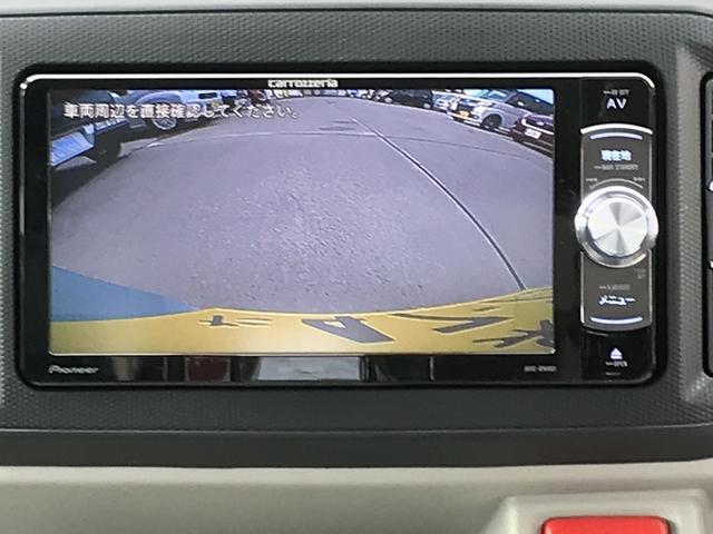 バックモニター画像です。バック駐車が苦手な方でも安心です。
