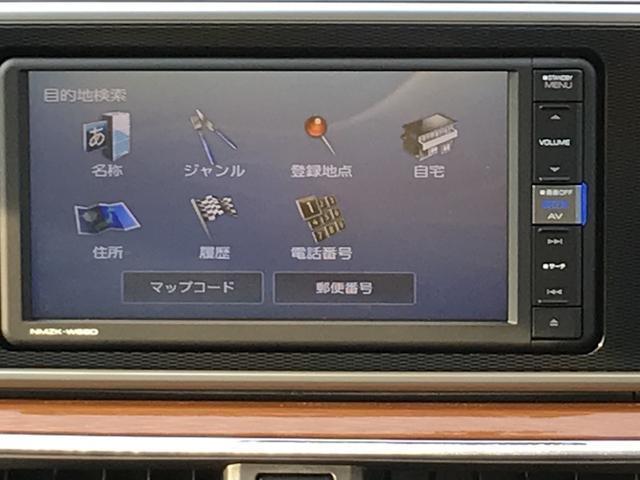 こちらがAV操作画面です。多彩な機能を持ち合わせています。ドライブが一層楽しくなります。