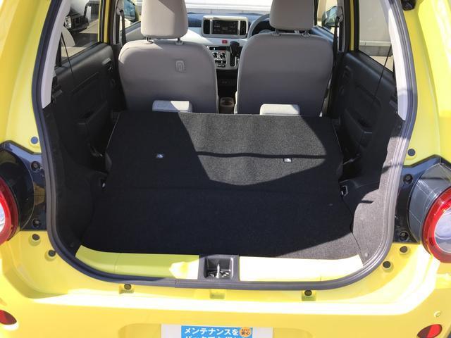 後席倒せば、コンパクトサイズでも、今やラゲッジスペースの充実は当たり前です!本当に重宝しますよ!たくさん荷物を詰めて便利です。