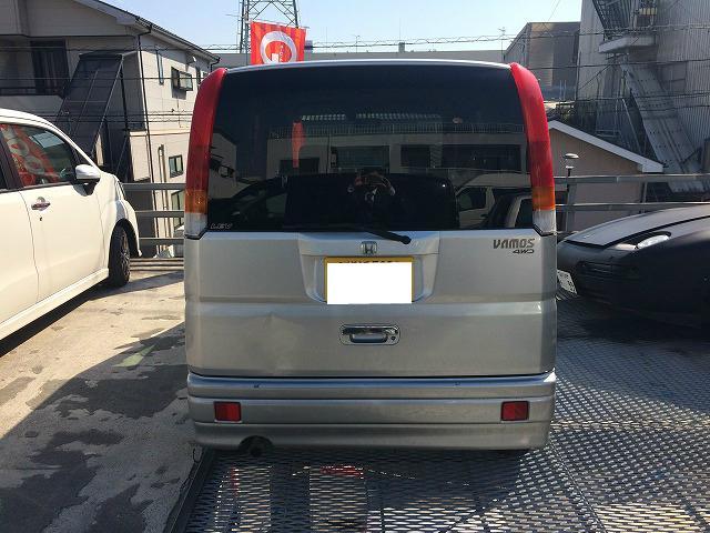 ホンダ バモス L 4WD KENWOODCDオーディオ エアコン