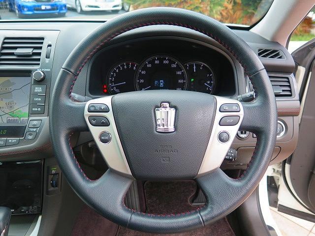 トヨタ クラウン 2.5アスリート プレミアムEDT 1オーナー 本革 最終型