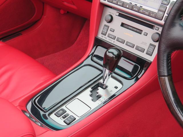 430 後期型 純正HDDナビ 赤革 マークレビンソン(7枚目)