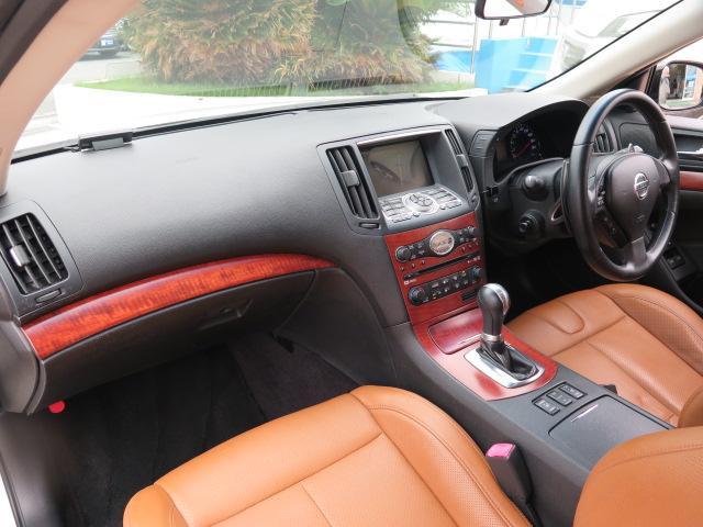 日産 スカイライン 370GT タイプSP 純正HDD 車高調 柿本マフラー