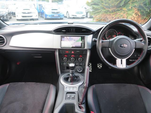 スバル BRZ S ワンオーナー 6MT 純正メモリーナビ フルセグTV