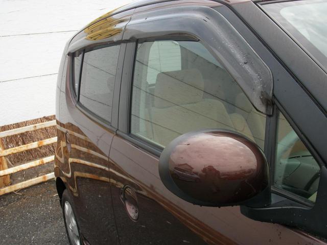 純正ドアバイザー付き!雨の日、風の日便利です!