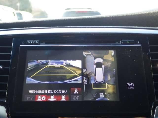 ホンダ オデッセイ アブソルート・EX 禁煙車 後席モニタ マルチカメラ