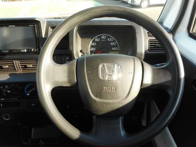 メーター回りもシンプルで運転も楽々!