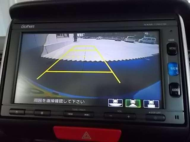 バックカメラも装備済!駐車が苦手な方も安心して車庫入れしていただけます♪