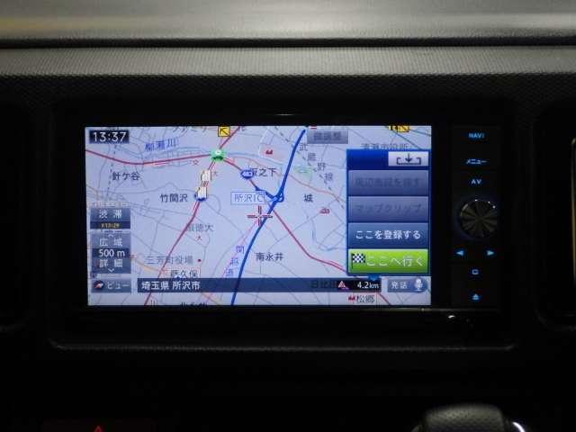 ワークス オーディオレス 4WD レーザーレーダー 社外ナビ(11枚目)