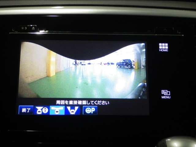 ハイブリッドアブソルート・ホンダセンシンアドバンスP マルチビューカメラ 2列目ベンチシート(13枚目)