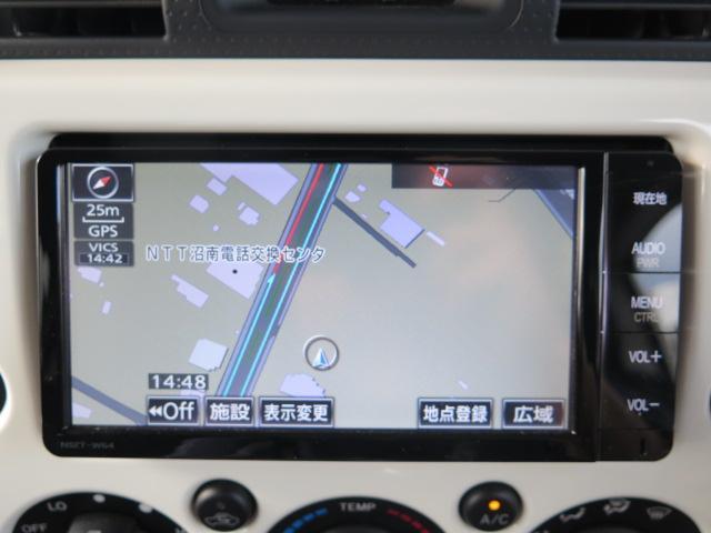 トヨタ FJクルーザー カラーパッケージ 純正SDナビ デフロック オートクルーズ