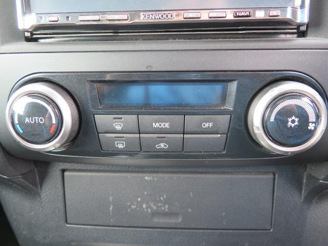 オートエアコン付きで車内をいつでも快適に過ごせます♪