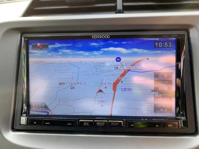 13G・スマートセレクション ケンウッドSDナビ(MDV-L500) フルセグ DVD ドライブレコーダー セキュリティアラーム ビルトインETC ウインカー付電格ドアミラー UVカット&プライバシーガラス Wエアバッグ ABS(27枚目)