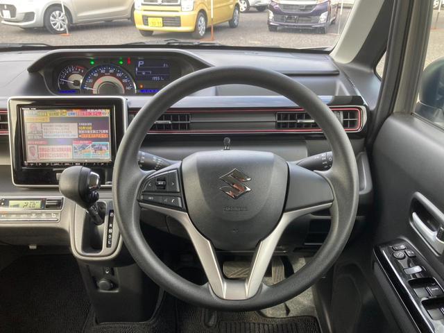 L 純正8インチSDナビ フルセグ CD DVD Bluetooth接続 バックカメラ LEDヘッドライト オートライト シートヒーター 純正エアロ 純正14AW ステアリングリモコン(11枚目)