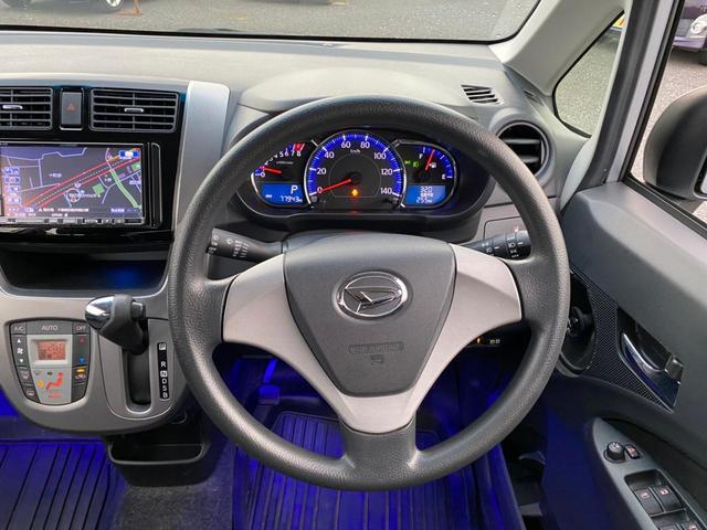 カスタム X SA フル装備 スマートキー Pスタート アイドリングストップ レーダーブレーキサポート ウィンカーミラー オートライト LEDライト 社外HDDナビ CD・DVD MSV フルセグ(11枚目)