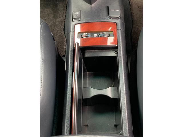 HS250h バージョンI 禁煙車 黒革エアコンシート ナビ フルセグ F&Bカメラ DVD USB端子 LEDヘッドライト(ウォッシャー付) クルコン 木目ハンドル ETC コーナーセンサー Bluetooth 録音 フルセグ(16枚目)