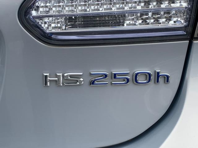 HS250h バージョンI 禁煙車 黒革エアコンシート ナビ フルセグ F&Bカメラ DVD USB端子 LEDヘッドライト(ウォッシャー付) クルコン 木目ハンドル ETC コーナーセンサー Bluetooth 録音 フルセグ(35枚目)