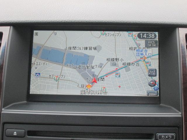 操作性の良いメーカーライン装着のHDDナビゲーション付きです
