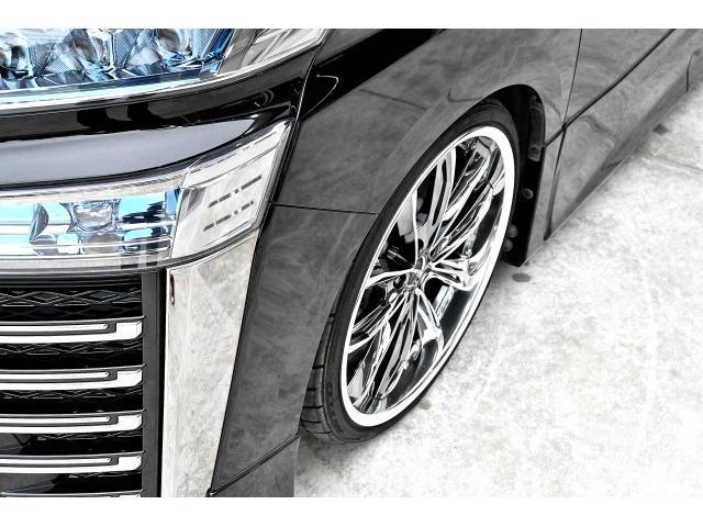 2.5Z Gエディション ワンオーナー 禁煙車 アドミレーションエアロ モデリスタフロントグリル クレンツェグラベン21インチAW テイン減衰付き車高調 純正10インチディーラーナビ 純正12インチフリップダウン ETC2.0(53枚目)