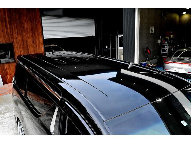 2.5Z Gエディション ワンオーナー 禁煙車 アドミレーションエアロ モデリスタフロントグリル クレンツェグラベン21インチAW テイン減衰付き車高調 純正10インチディーラーナビ 純正12インチフリップダウン ETC2.0(70枚目)