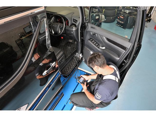 2.5Z Gエディション ワンオーナー 禁煙車 アドミレーションエアロ モデリスタフロントグリル クレンツェグラベン21インチAW テイン減衰付き車高調 純正10インチディーラーナビ 純正12インチフリップダウン ETC2.0(78枚目)