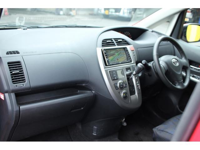 トヨタ ラクティス G Sパッケージ HDDナビ エアロ アルミ ワンオーナー
