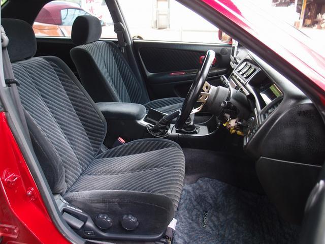 トヨタ チェイサー ツアラーV HDDナビ サンルーフ 車高調19AW 純正5速