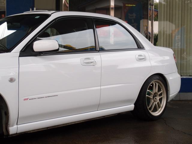WRX STi C HDDナビ 車高調 17AW 1オーナー(8枚目)
