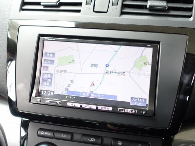 マツダ アテンザスポーツ 25S 純正地デジナビ 車高調 WORK極18AW マフラー