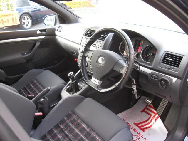 フォルクスワーゲン VW ゴルフ GTI ターボ 6速MT HID ワンオーナー
