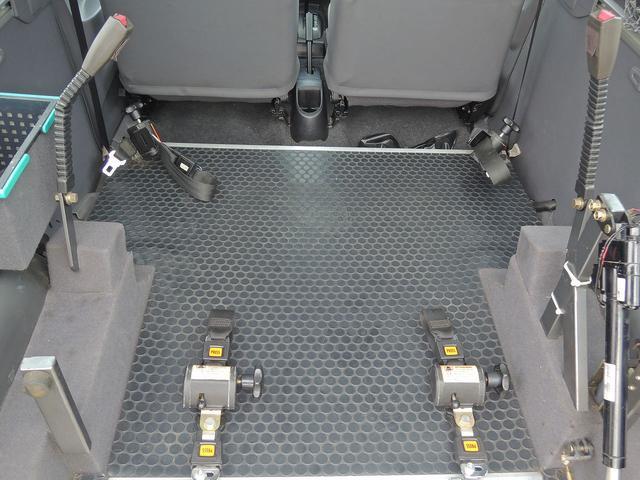 三菱 ミニカトッポ 福祉車両 スロープ 車椅子1脚 車椅子手動固定 乗車定員3名
